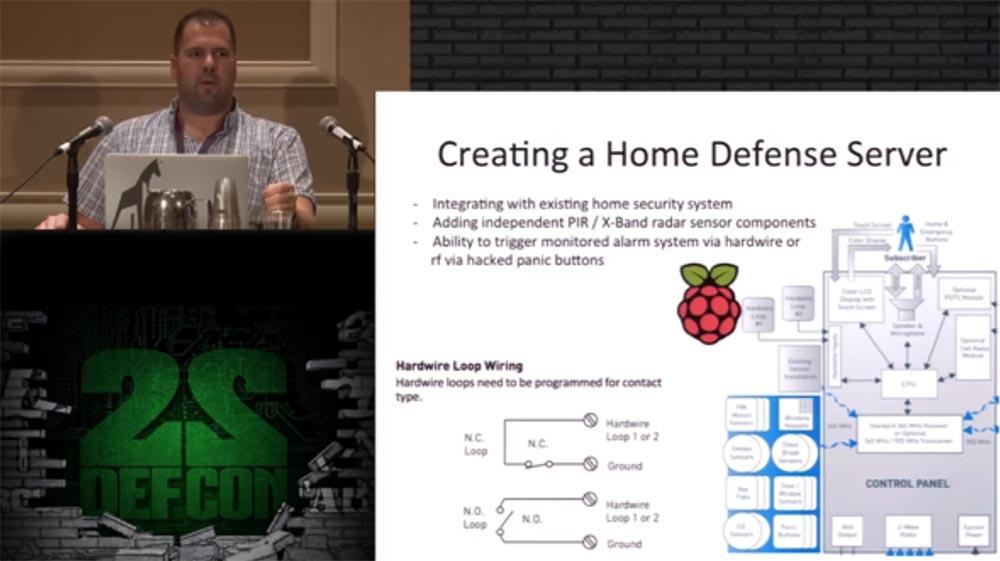 Конференция DEFCON 22. «Один дома с автоматической системой защиты». Крис Литтлбери - 16