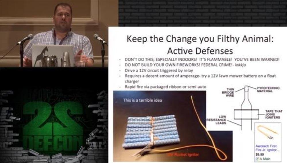 Конференция DEFCON 22. «Один дома с автоматической системой защиты». Крис Литтлбери - 22