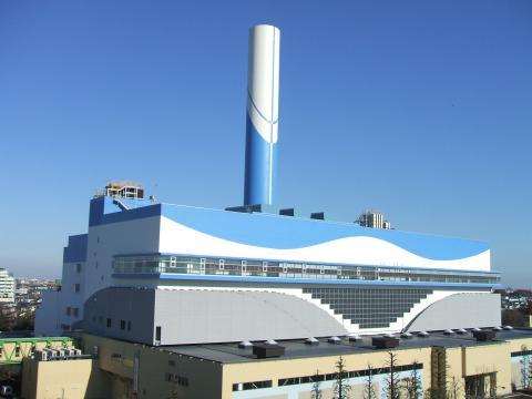 Мусоросжигающий завод в Токио
