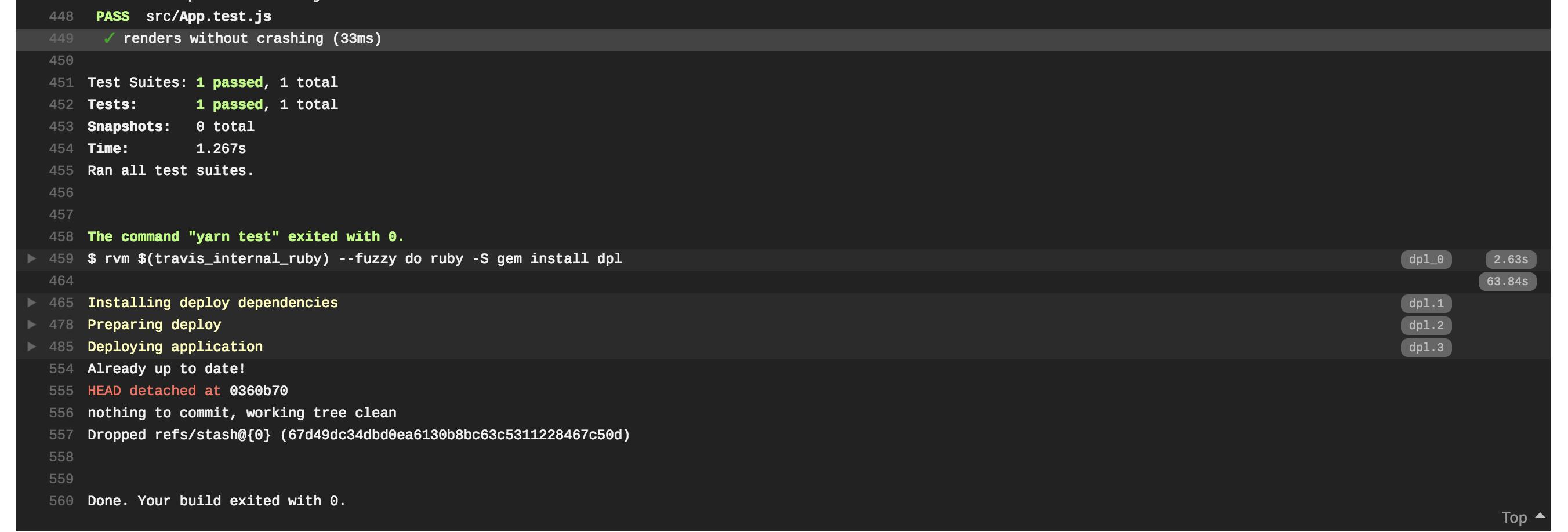Continuous Integration для новичков - 9