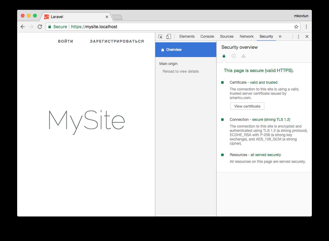 Как выпустить самоподписанный SSL сертификат и заставить ваш браузер доверять ему - 5