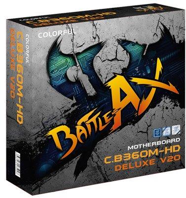Представлена системная плата Colorful Battle Axe C.B360M-HD Deluxe V20