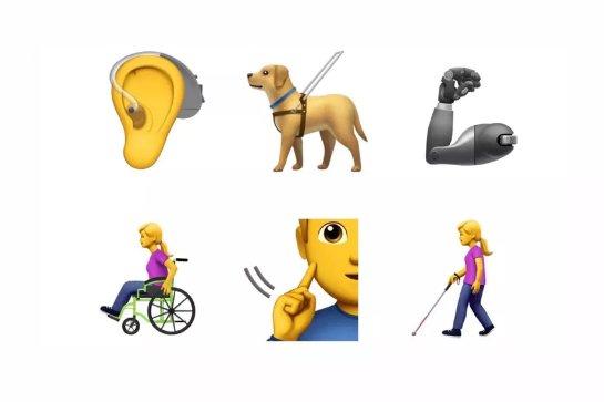 Apple представила предложение для 13 новых emoji