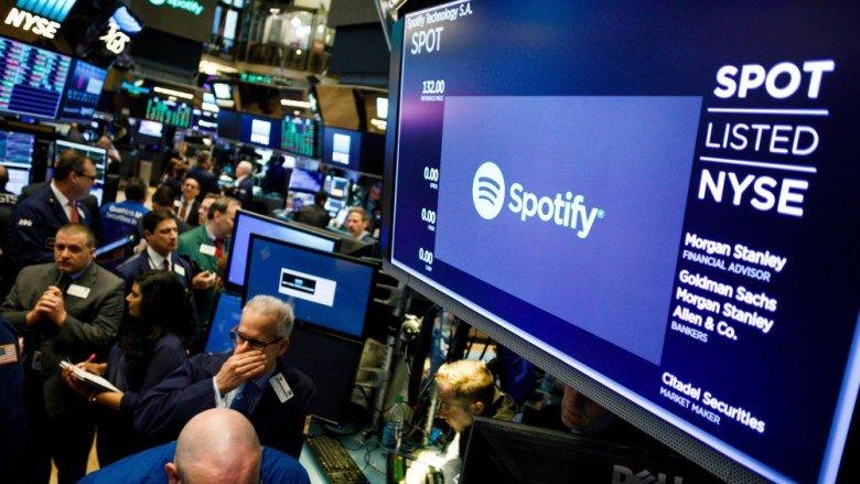 Spotify стала публичной компанией, обойдя по рыночной капитализации CBS, Twitter, Snap и Viacom