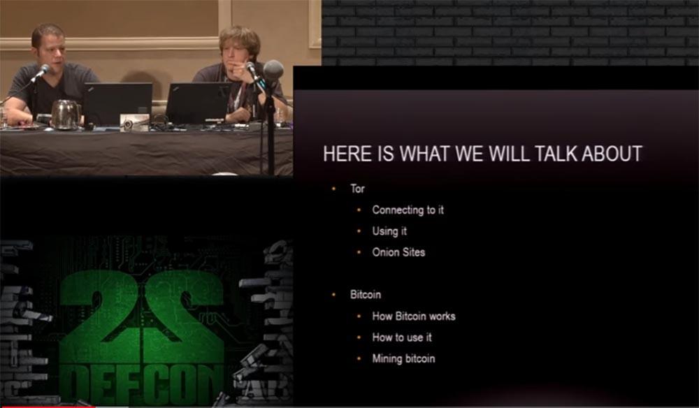 Конференция DEFCON 22. «Путешествие по тёмной стороне Интернет. Введение в Tor, Darknet и Bitcoin» - 5