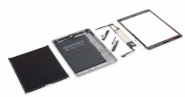 Новый планшет Apple iPad не стал лучше в плане ремонтопригодности - 1