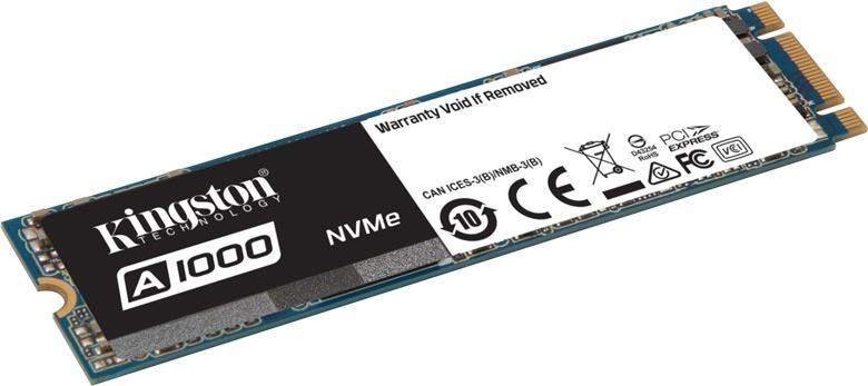 Накопитель выпускается объемом 240, 480 и 960 ГБ