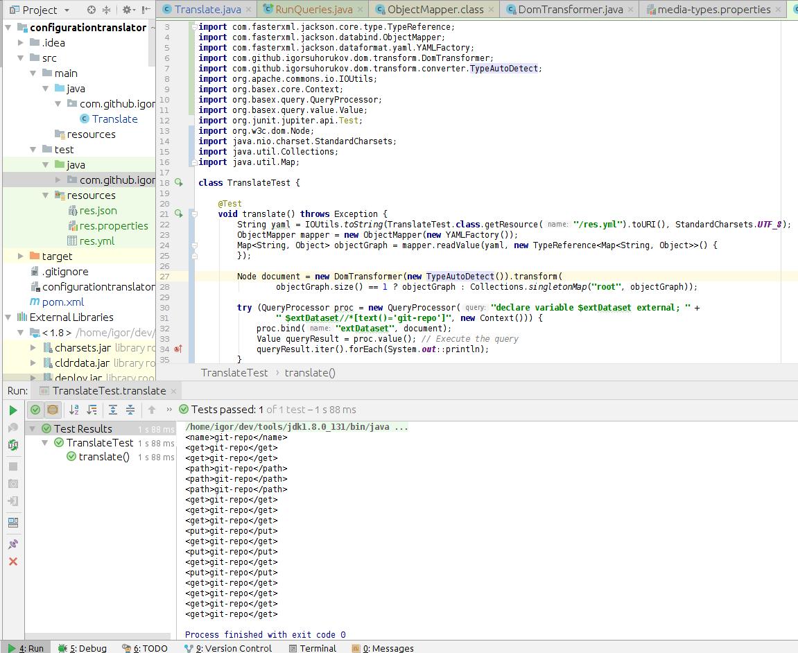 Взаимные превращения JSON, YAML, XML - 2