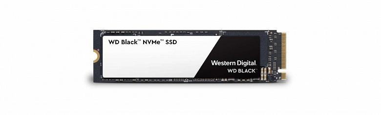 WD Black 3D NVMe SSD: 1 ТБ, 3400 МБ с, 500 000 IOPS и цена 450 долларов - 1