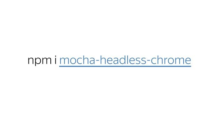 Модульное тестирование интерфейсов в Headless Chrome. Лекция Яндекса - 17
