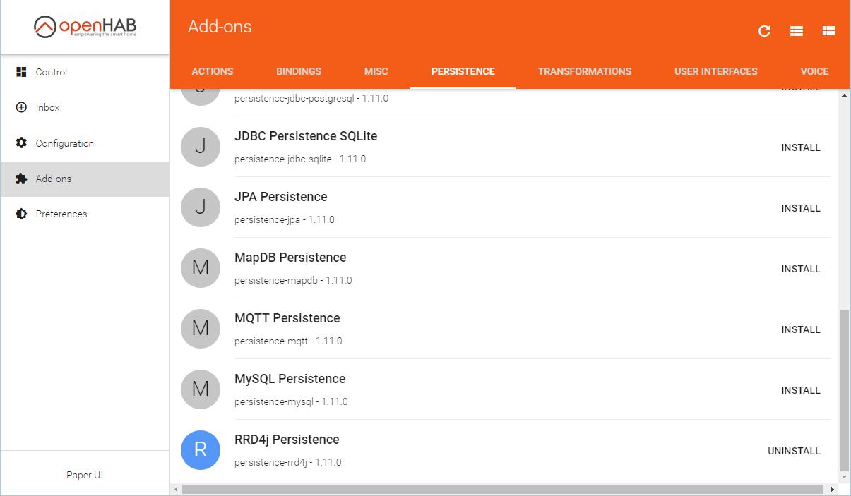Использование rrd4j для OpenHab2 persistence - 3