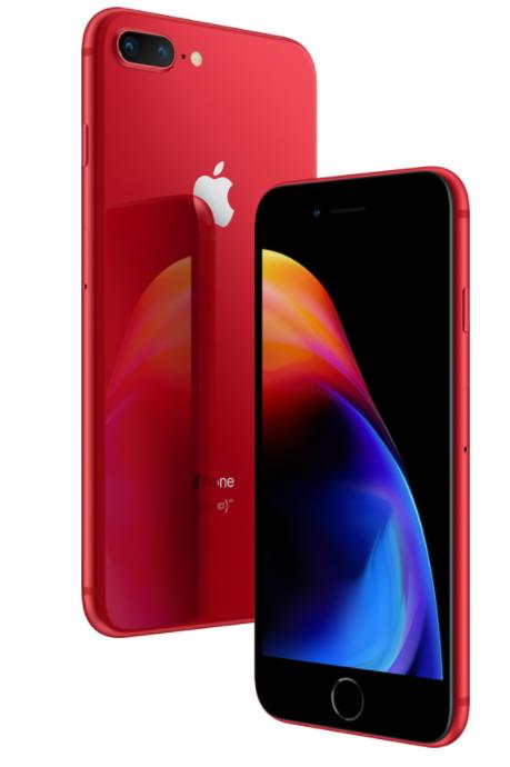Смартфоны iPhone 8 и iPhone 8 Plus стали доступны в красном цвете в рамках линейки (Product) RED - 1