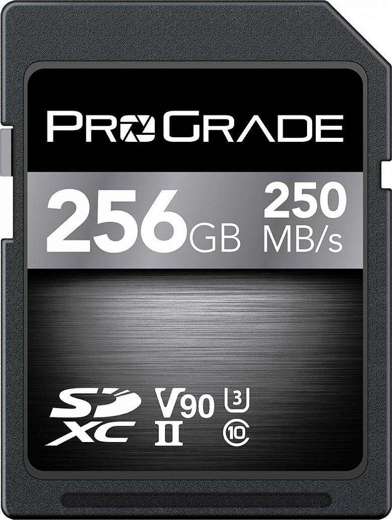 Представлены карты памяти ProGrade Digital SDXC UHS-II V90