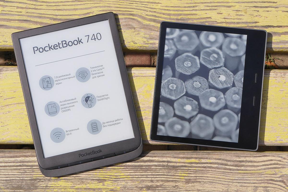Битва титанов: сравнение флагманских ридеров PocketBook 740 и Amazon Kindle Oasis 2017 - 23