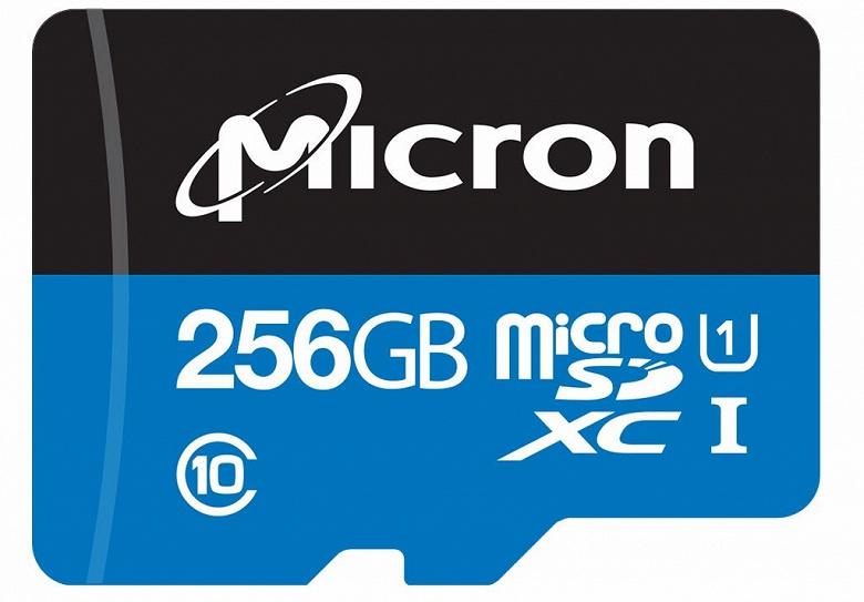 Компания Micron объявила о доступности карт памяти Industrial microSDXC объемом 128 и 256 ГБ