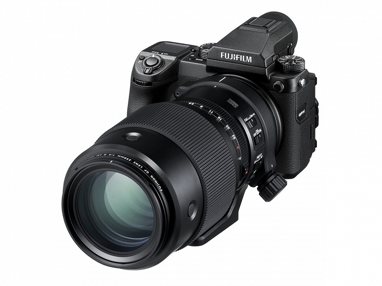 Представлен объектив Fujifilm GF 250mm F4 R LM OIS WR