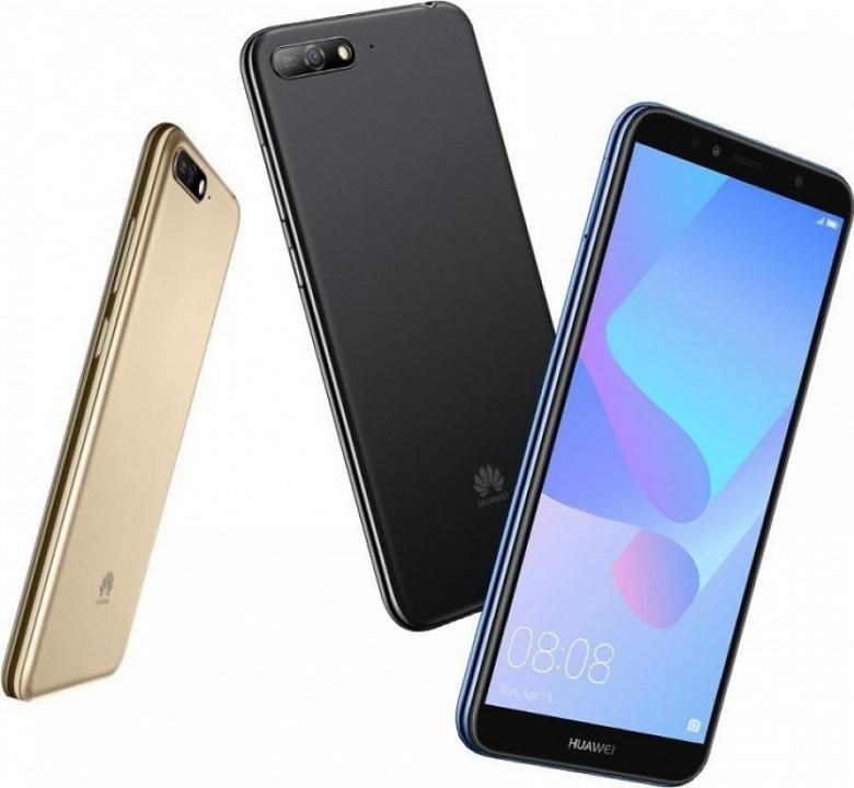 Смартфон Huawei Y6 (2018), несмотря на статус, получил функцию распознавания лиц и Android 8.0 - 2