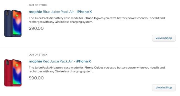 Mophie готовит первый сертифицированный чехол для iPhone X с поддержкой беспроводной зарядки - 2