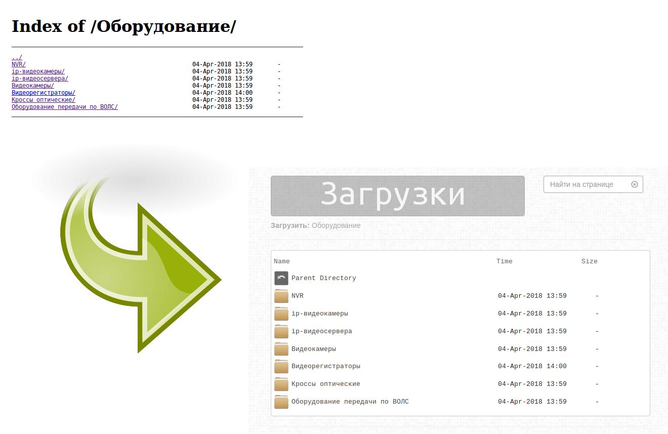 Красивый листинг файлов и директорий в nginx - 1