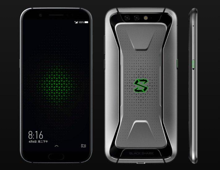 Представлен Xiaomi Black Shark — игровой смартфон с жидкостной системой охлаждения и подключаемым контроллером - 2
