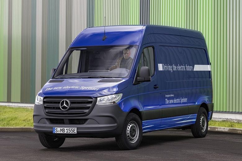 Электромобиль Mercedes-Benz eSprinter подойдет для внутригородских перевозок