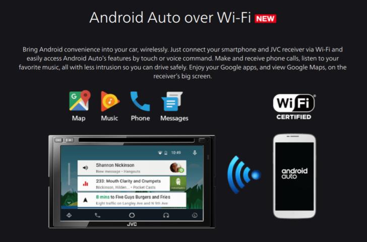 Функция Android Auto теперь доступна посредством беспроводного подключения - 2