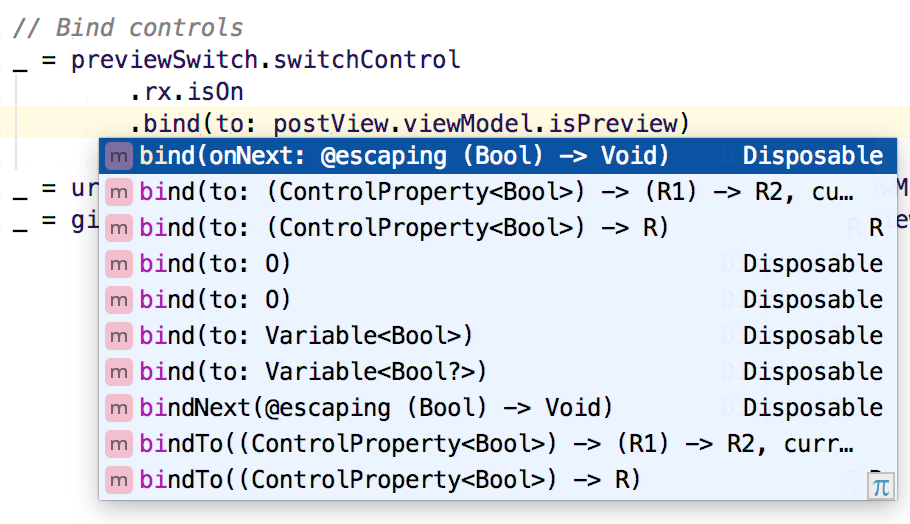 RxSwift support