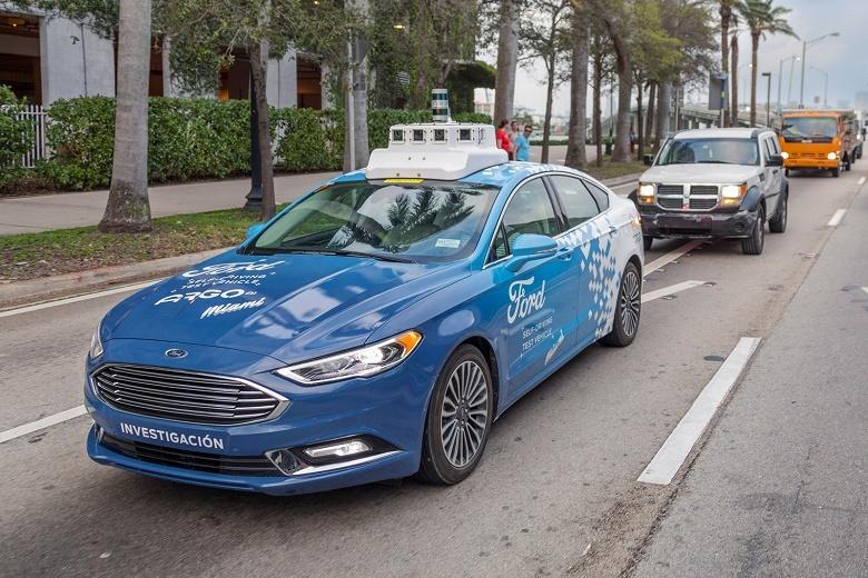 В 2021 году Ford запустит свой масштабный сервис по доставке с использованием беспилотных машин - 1