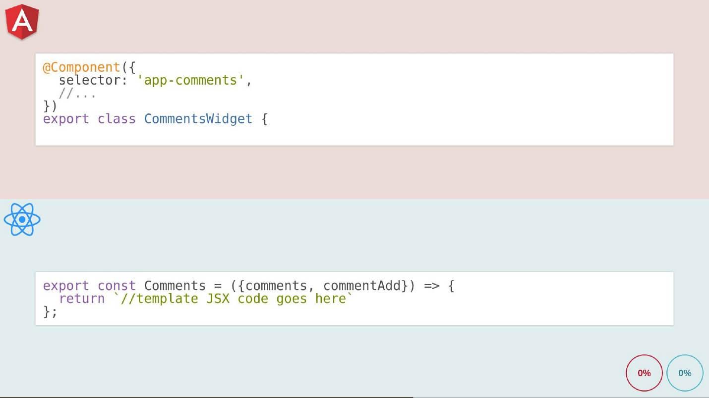 Бешеные псы: Angular 2 vs React - 17