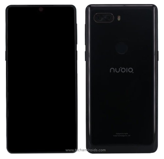 Смартфон Nubia Z18 будет ненамного крупнее модели Nubia Z18 mini - 1