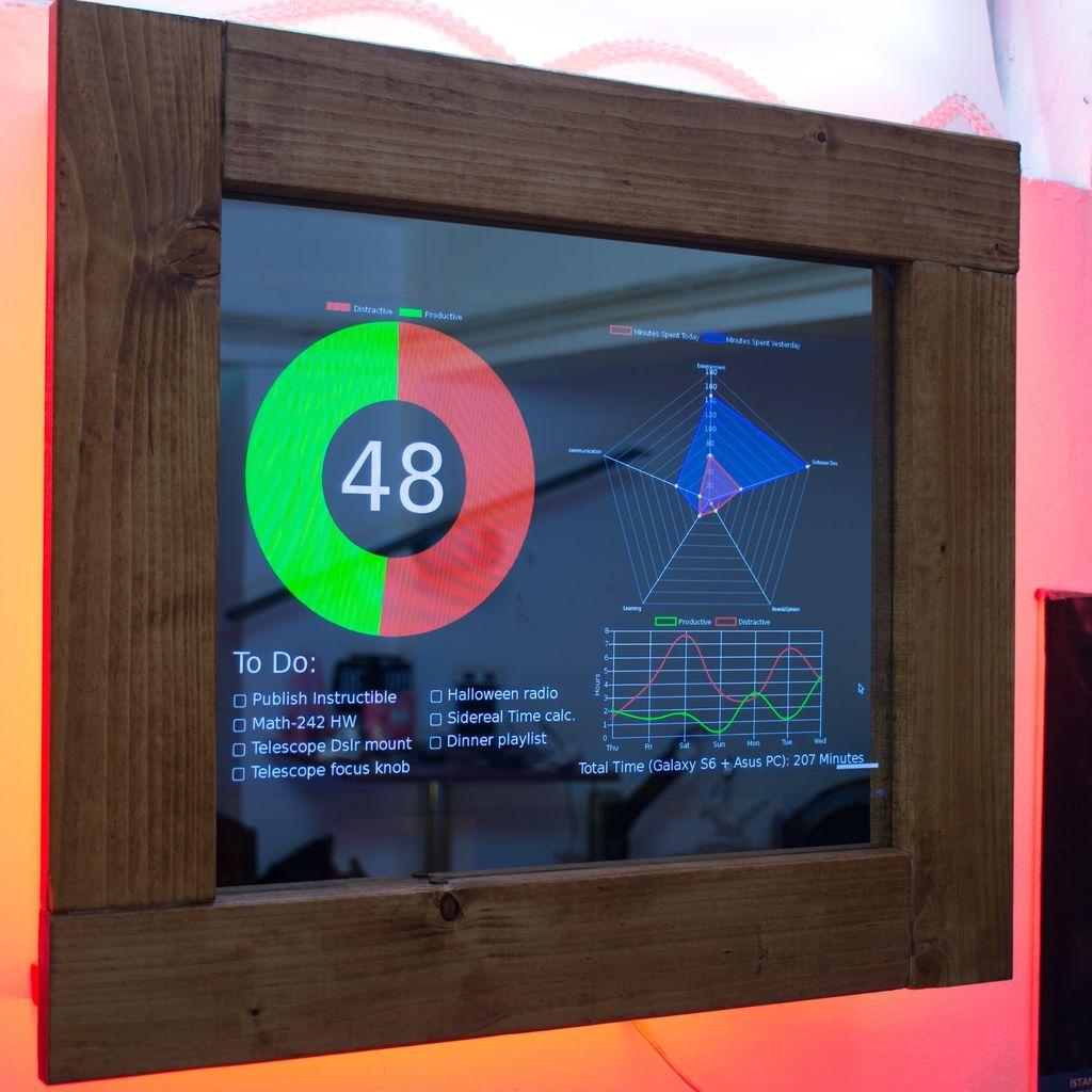 Трекер личной продуктивности на Raspberry Pi - 1