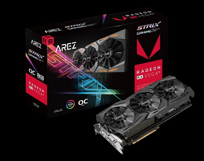 Компания Asus представила бренд Arez для видеокарт Radeon - 1