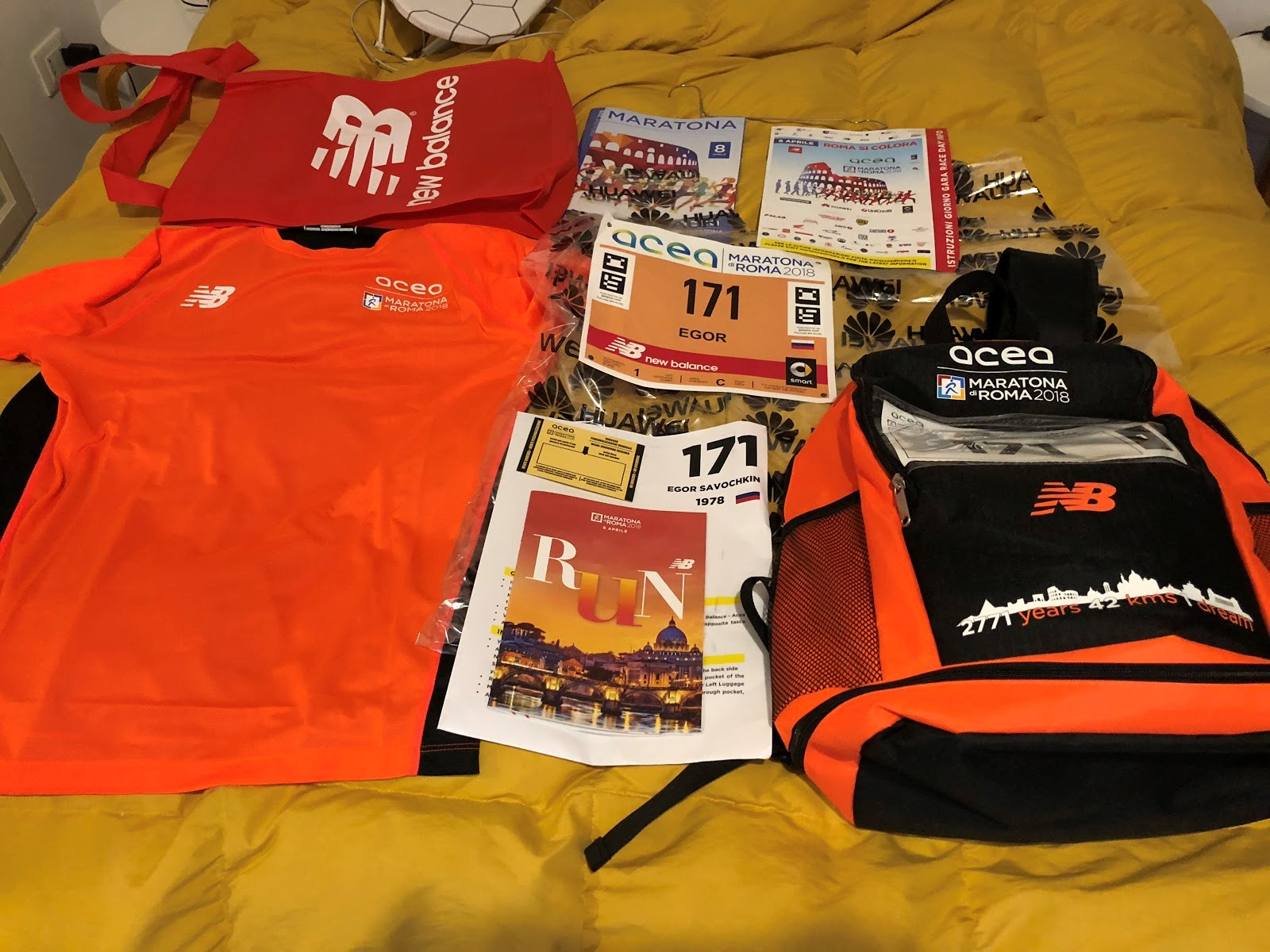 [Хабра-оффтоп] Maratona di Roma, или первый марафон для ИТ-шника - 13