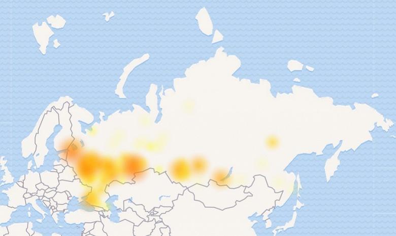 Обвал Рунета продолжается — пришла очередь сети «ВКонтакте»