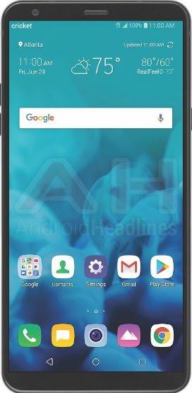 Опубликовано первое изображения смартфона LG Stylo 4, оснащенного стилусом