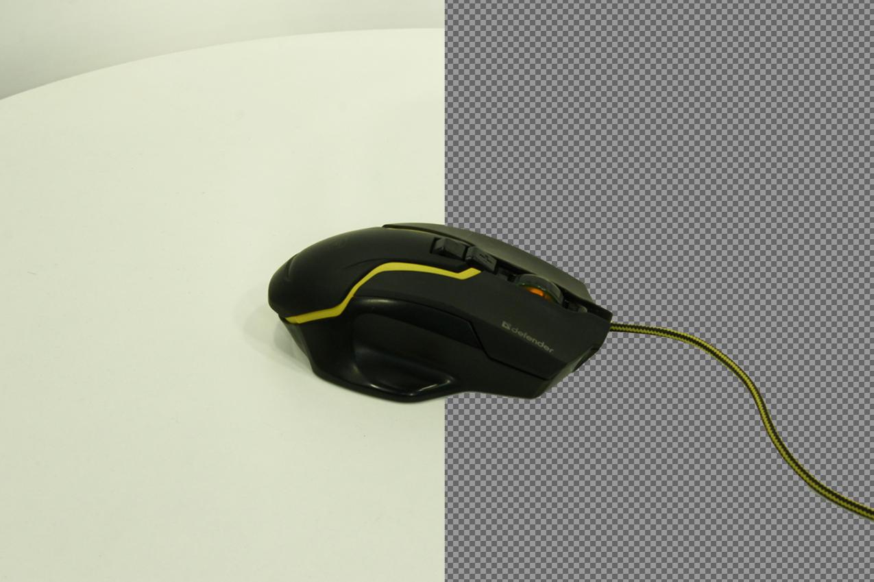Простой фильтр для автоматического удаления фона с изображений - 1