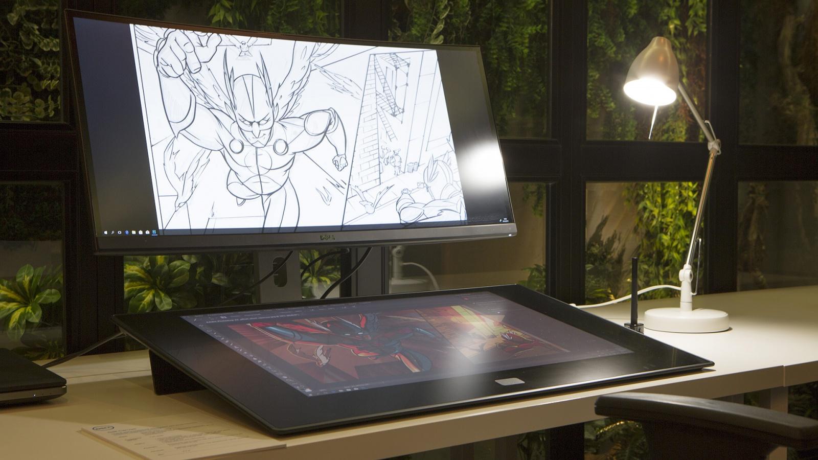 Dell Canvas: интерактивная панель для профессиональной работы с графикой - 5