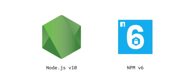 Релиз Node.js 10 и NPM 6 - 1