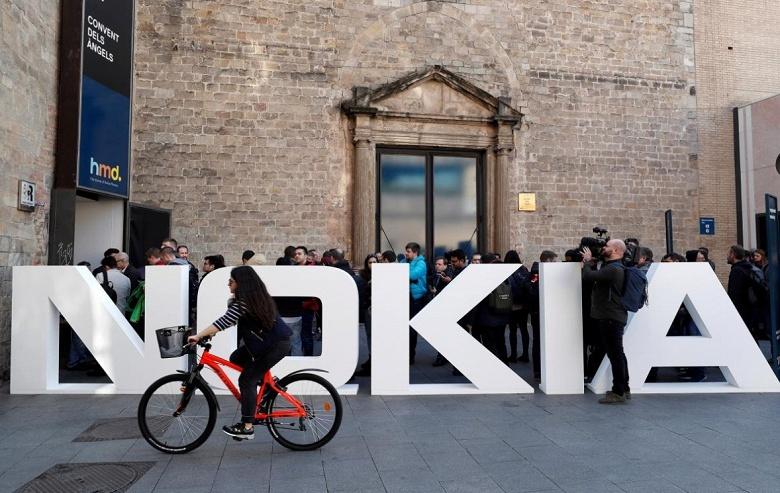 Доход Nokia в первом квартале 2018 года составил 4,9 млрд евро