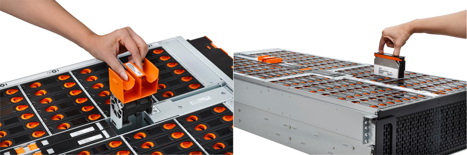 Наращиваем дисковую массу без стероидов. Обзор 102-дисковой полки Western Digital Ultrastar Data102 и конфигурации СХД - 1