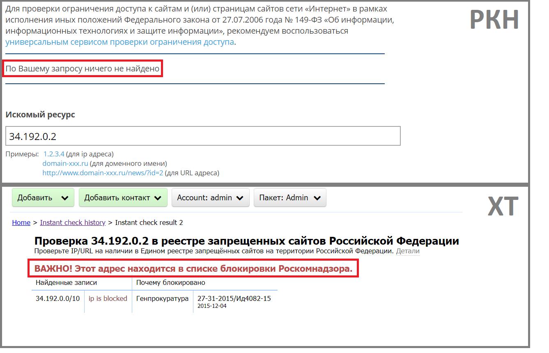 Как убедиться, что мой сайт не заблокирован РКН - 2