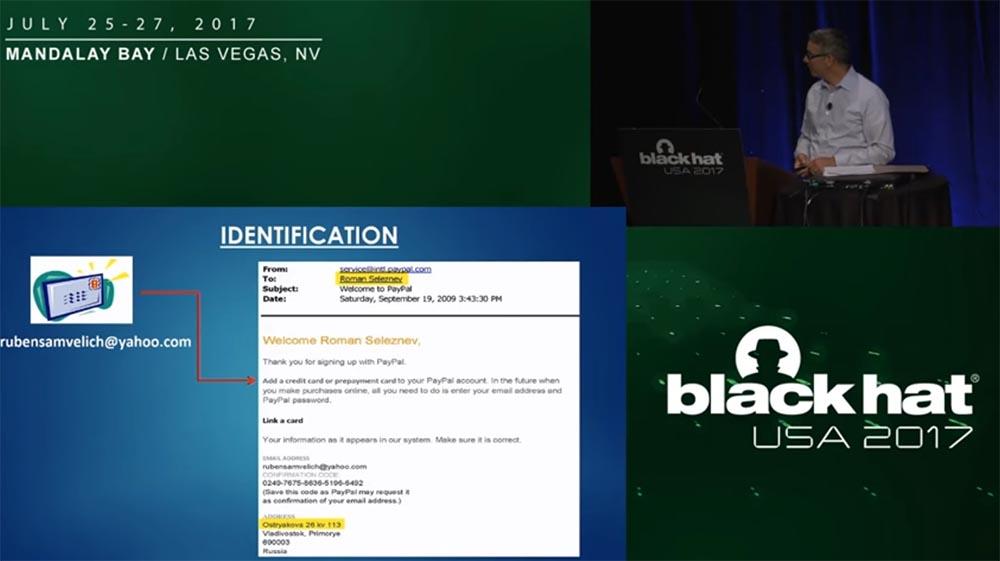 Конференция BLACK HAT USA. «Как федералы поймали русского мега-кардера Романа Селезнёва» - 12