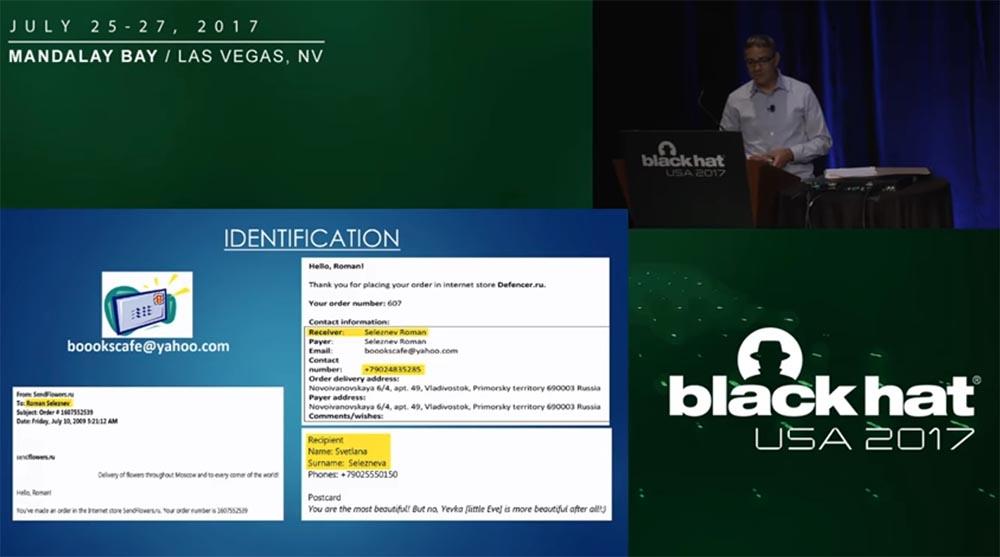 Конференция BLACK HAT USA. «Как федералы поймали русского мега-кардера Романа Селезнёва» - 13