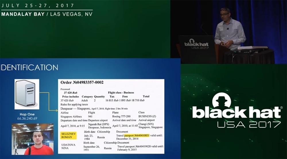 Конференция BLACK HAT USA. «Как федералы поймали русского мега-кардера Романа Селезнёва» - 14