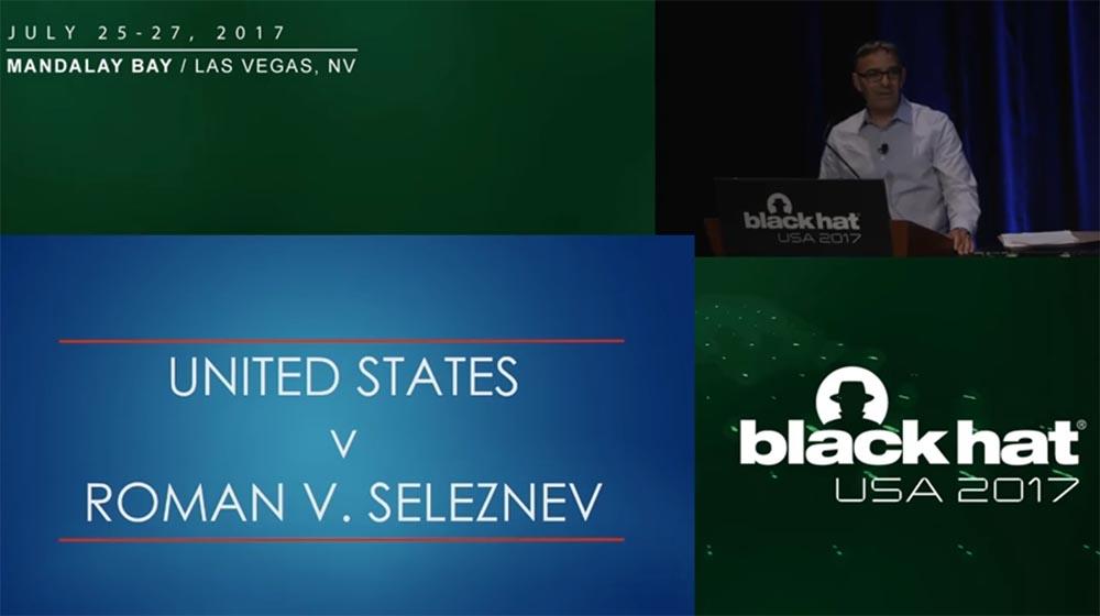 Конференция BLACK HAT USA. «Как федералы поймали русского мега-кардера Романа Селезнёва» - 2