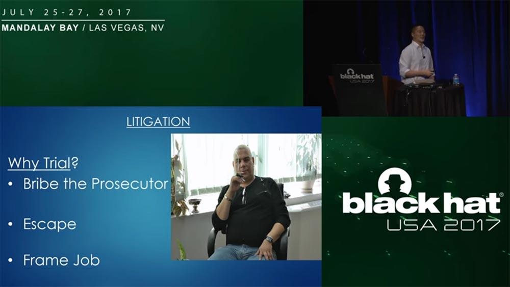 Конференция BLACK HAT USA. «Как федералы поймали русского мега-кардера Романа Селезнёва» - 21