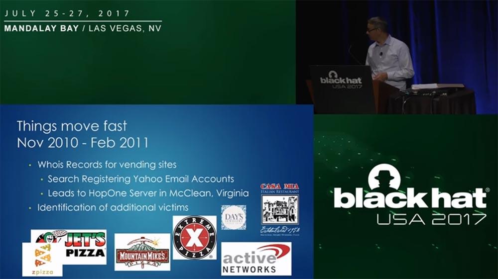 Конференция BLACK HAT USA. «Как федералы поймали русского мега-кардера Романа Селезнёва» - 9