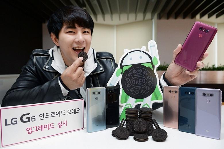 С 30 апреля LG наконец-то начнёт обновлять смартфоны G6 до Android Oreo - 1