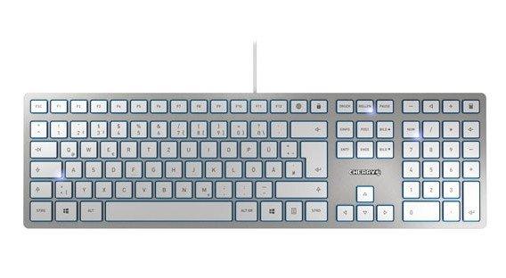 Высота клавиатуры Cherry KC 6000 SLIM — 15 мм - 1